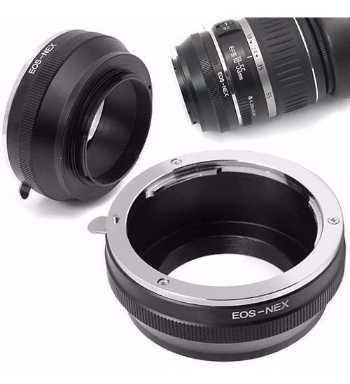 Adaptador Lentes Canon Eos Ef - Cameras Sony Nex 3 Nex 5 ...