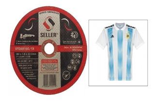 Disco De Corte Seller Amoladora 115x1.2x22 25u + Camiseta