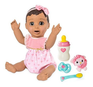 Luvabella - Pelo Morena - Baby Doll Receptivo Con Expresione
