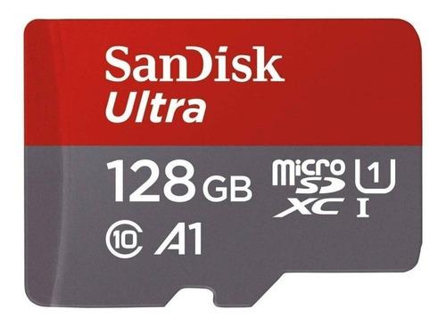 Imagem 1 de 2 de Cartão de memória SanDisk SDSQUNC-128G-ZN3MN  Ultra 128GB