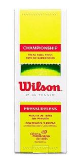 Pelotas Para Tenis Wilson Championship Sin Presion