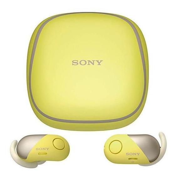 Fone De Ouvido Sem Fio Sony Wf-sp700n/ym Com Bluetooth/nf...