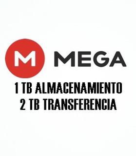 Mega Premium 2 Tb Transferencia 1 Mes