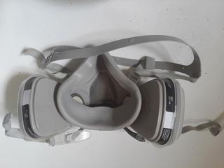 Mascara P/ Pintor Automotriz 2 Filtros Carbon Activ. F123