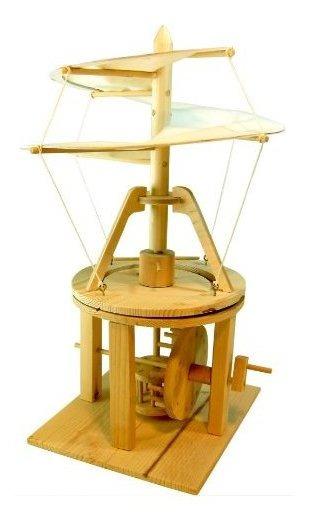 Modelo De Máquina Voladora De Leonardo Da Vinci Pathfinders
