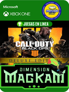 Call Of Duty Black Ops 4 Deluxe Para Xbox One Juegas Online