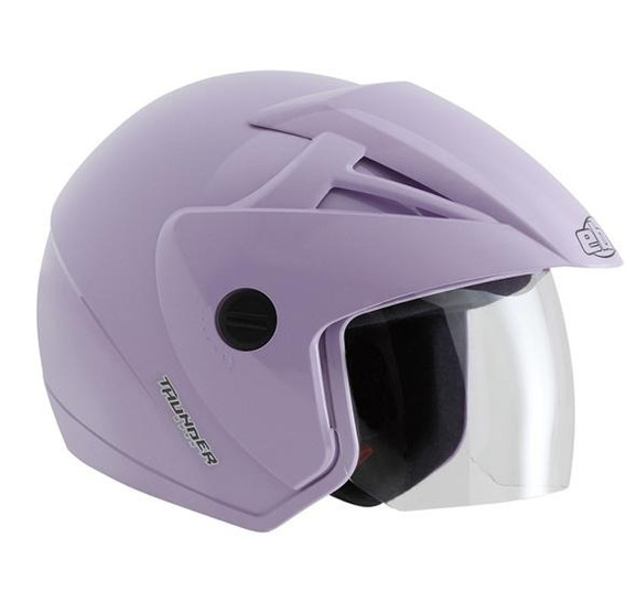 Capacete Ebf Thunder Open Solid Lilas 58/m