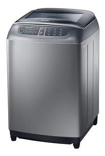 Lavadora Samsung Carga Superior 35lbs Silver - Wa16f7l6dda