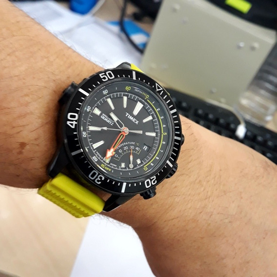 Relógio Timex Inteligent Estilo New Alticron Lindo Impecável