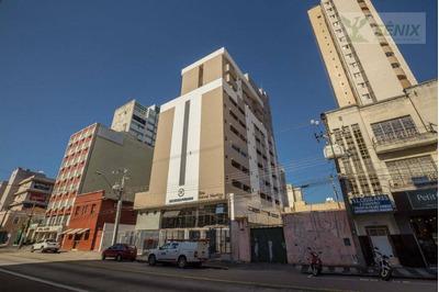 Studio Com 1 Dormitório Com Garagem Para Alugar, 31 M² Por R$ 990/mês - Centro - Curitiba/pr - St0018