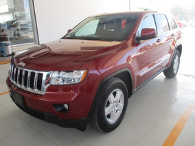 Jeep Grand Cherokee Laredo 4x2, A/c, Color Rojo, Modelo 2013