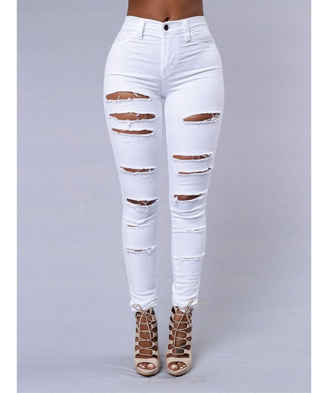 Pantalon Roto Blanco Mercadolibre Com Mx