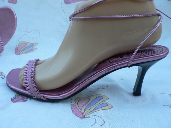 Sandalia Zapato Nº 39 38 Impecable Comoda Moderna