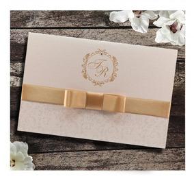 Convite De Casamento Elegante ( 80 Unid.) 160,00