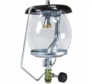 Lampião Camping A Gás C/ Vidro Transparente Grátis 1 Camisa
