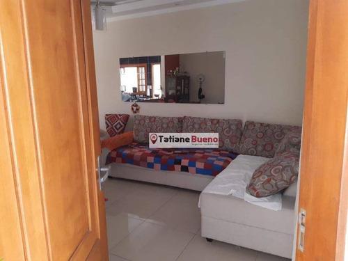 Casa Com 3 Dormitórios À Venda, 150 M² Por R$ 320.000,00 - Residencial Santa Paula - Jacareí/sp - Ca2415