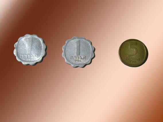 3 Monedas Antiguas De Israel
