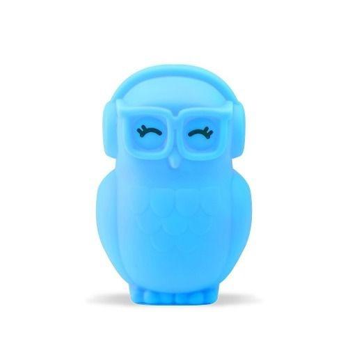 Luminária Coruja Azul Decorfun