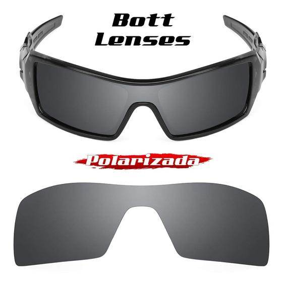Lente Oil Rig Black Chrome Polarizada - Bott Lenses