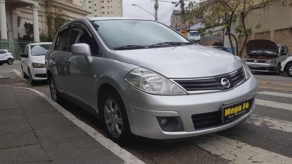Nissan Tiida Sedan 1.8 16v Flex Completo Prata 2013