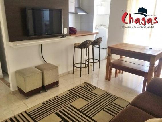 Apartamento Mobiliado ,praia Do Indaia Em Caraguatatuba - 575