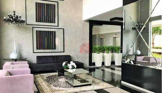 Apartamento De 5 Dormitórios, Sendo 3 Suítes, Garage Para 3 Carros À Venda, 200 M² - Royal Park - Campo Grande/ms - Ap2071