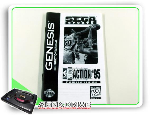 Manual Nba Action 95 Original Sega Mega Drive / Genesis