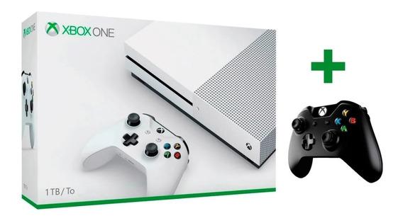 Xbox One S 1tb + 2 Controles + 5 Jogos