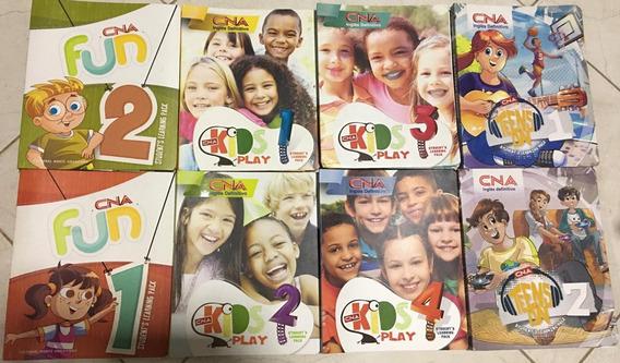 Kit Com 8 Livros Infantis Cna.