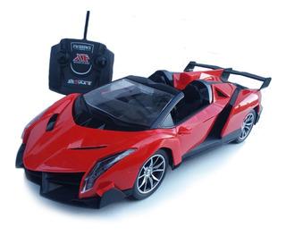 Carrinho Carro Controle Remoto Bugatti Ou Lamborghini