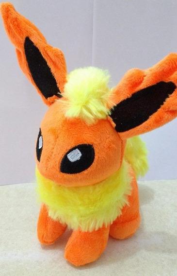 Pelúcia Flareon Pokémon Nintendo-tamanho: 18cm Promoção!!