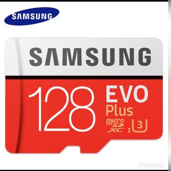 Cartão Micro Sd Samsung 128gb Evo Plus