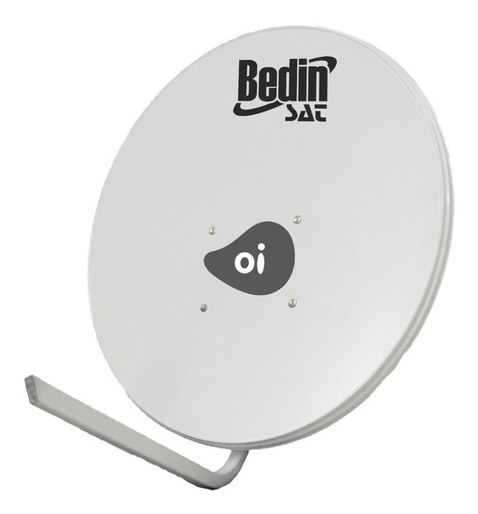 Antena Parabólica Bedin Sat Banda Ku Chapa 75cm