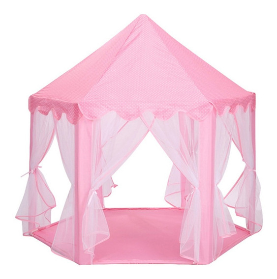 Tienda De Juegos Diseño Castillo De Princesa Rosa Para Niños