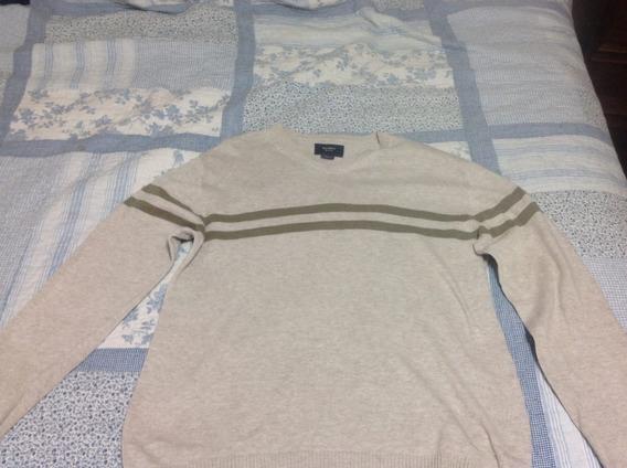 Sweater P/hombre De Hilo Talle Small Cuello En V Marca Soho.