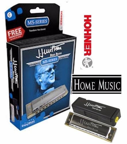 Imagen 1 de 4 de Armonica Hohner  Jj Milteau Deep Blues Harmonica Diatonica