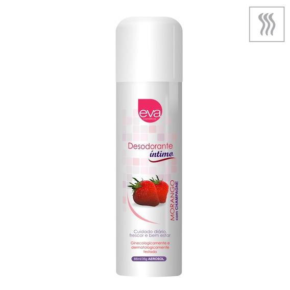 Desodorante Íntimo Eva 66ml (co220 - St188) Morango C/ Cham