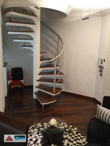 Cobertura Com 3 Dormitórios À Venda, 140 M² Por R$ 750.000,00 - Vila Formosa - São Paulo/sp - Co0296