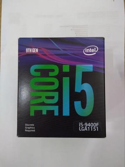 Caixa Vazia Processador I5-9400 Com Manual E Selo Orig.