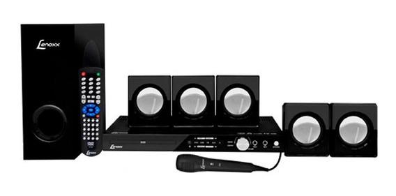 Home Theater Lenoxx Com Karaokê E Rádio Fm - 5.1 Canais Usb