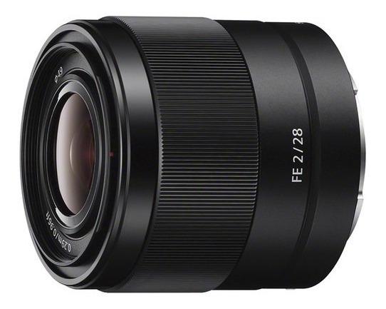 Lente Sony Fe 28mm F2 Sel28f20 / Fe 28mm F2