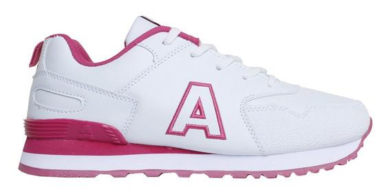 Zapatillas Addnice Moda Classic R.19 Cordon Mujer Bl/fu