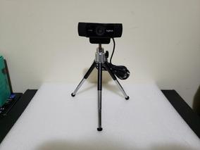Câmera Logitech C922 Pro Tripé 1080 Youtuber Streamer Ñ C920