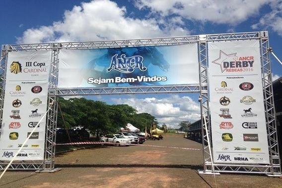 Aluguel Estrutura Boxtruss Backdrop Banner São Caetano Sp
