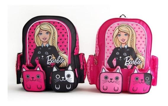 Mochila Barbie Gatitos Espalda 14 Pulgadas
