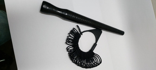 Medidor De Dedo, Aneleira De Plástico+ Cone Barata 02 Peças