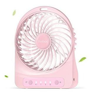 Yoobao Mini Ventilador Portatil Con Bateria Recargable Usb V