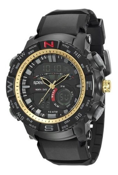Relógio Speedo Masculino Esportivo Digital 81145g0evnp1