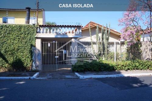 Casa Isolada Com 2 Dormitórios (1 Suíte), Terreno Grande, Em Vila Marari - São Paulo - Ca00004 - 33703646