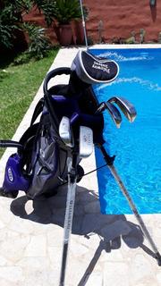 Set Junior Golf Us Kids Violeta 8 A 10 Años Ultralight 54´´